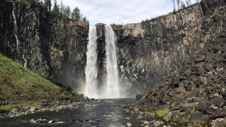 Водопад для перерождения