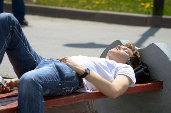 Новосибирцы ещё смогут погреться под жарким солнцем