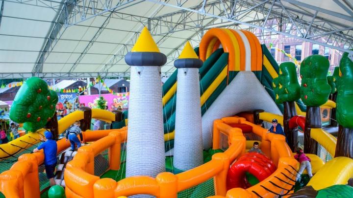 После Лободы на площадку МВЦ «Екатеринбург-Экспо» придут богатыри, Баба-яга и дети