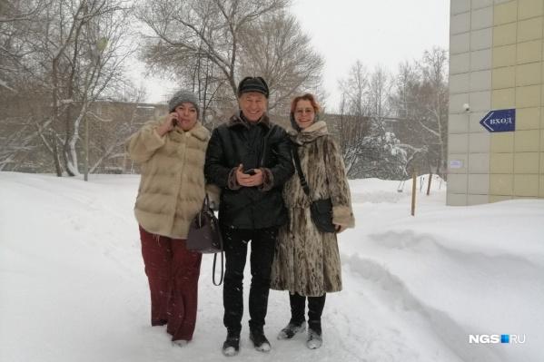 После вынесения приговора Сергей Масликов выглядел очень счастливым