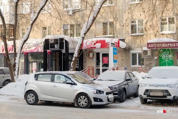 Вот так лучше не делать — ветки под тяжестью налипшего снега могут сломаться и повредить машину