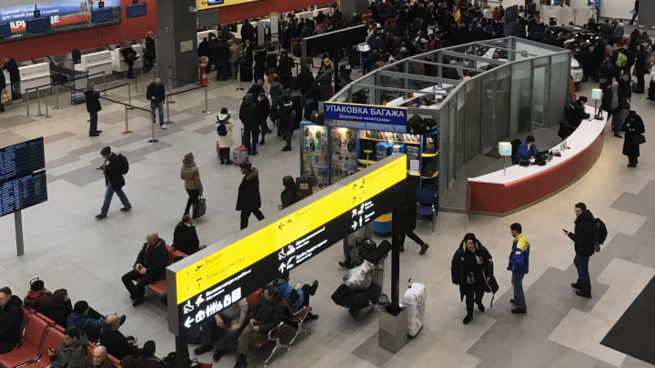 В челябинском аэропорту задержали все утренние рейсы из-за неисправной транспортерной ленты