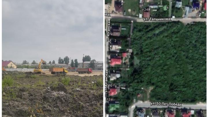 Жители Матмас взбунтовались из-за строительства многоэтажек по соседству с частными домами
