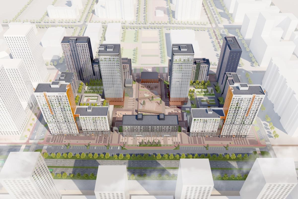 Так будет выглядеть квартал, который собираются строить