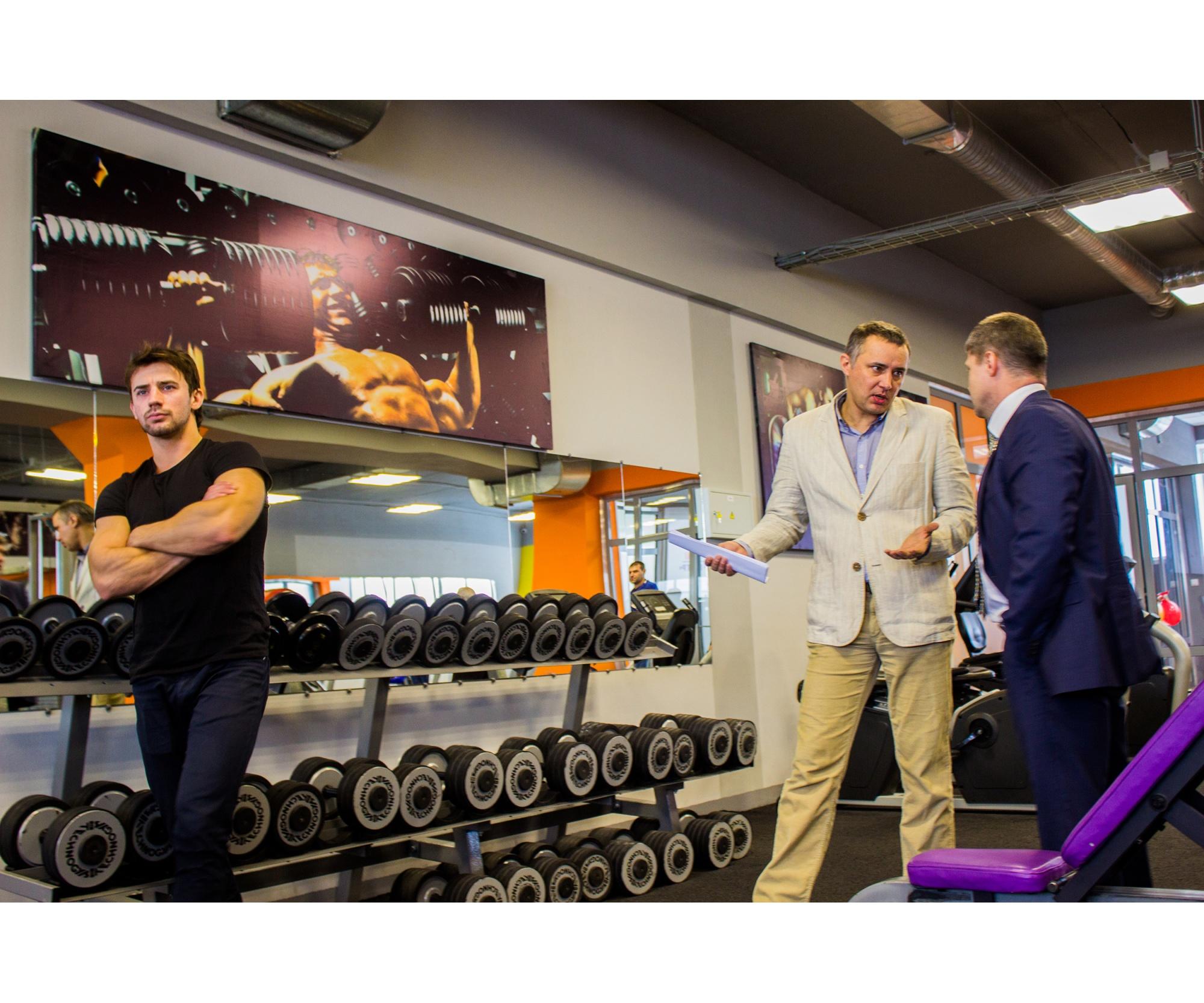 Такому фитнес-центру могут позавидовать и в Новосибирске