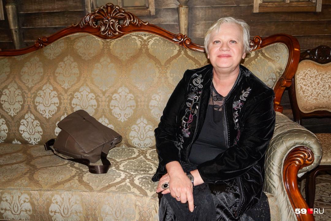 Ольга Галахова, столичный критик, преподаватель ГИТИСа и редактор газеты «ДА», в полном восторге от фестиваля
