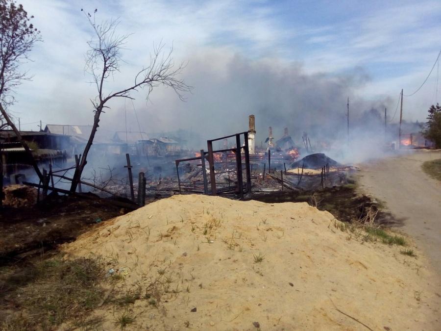 ВСибири поделу осгоревшем поселке арестовали директора лесопилки