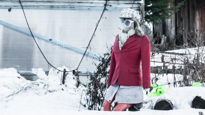 Пряничный домик и мрачные катакомбы для прогулок: смотрим фото Цигломени в пасмурном феврале