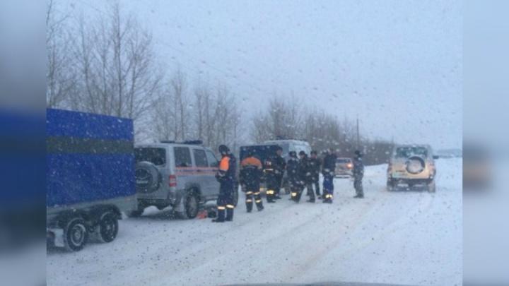 На башкирской трассе нашли замерзшее тело