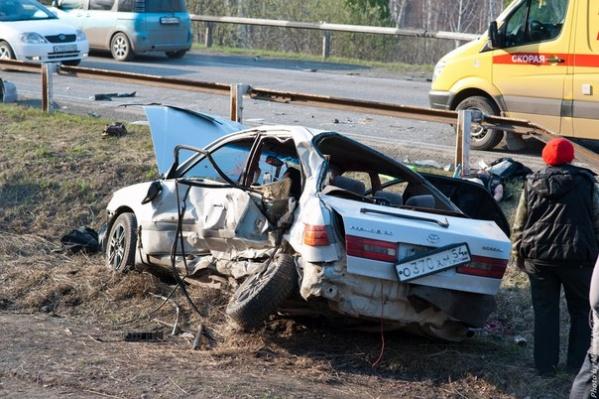 В результате ДТП погибли три девушки-мотоциклистки из Красноярска