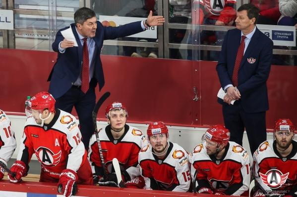 Главный тренер Андрей Мартемьянов не придумал, как спасти матч с «Магниткой»
