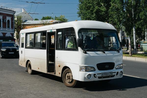 Под контролем оказался автобус № 53