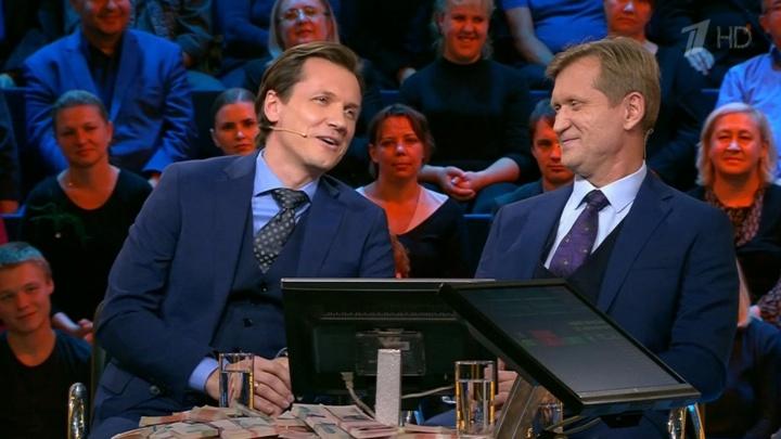 Рожков и Мясников выиграли 100 тысяч, а Соколов — 200: «Уральские пельмени» сыграли в шоу на Первом