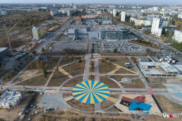 Дорожки второй очереди парка Героев-летчиков должны выдерживать грузовой автомобиль