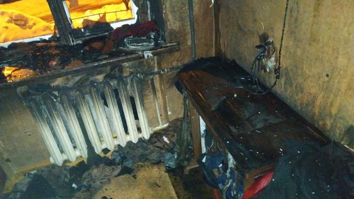 Мать и сын сгорели заживо в пожаре в Башкирии