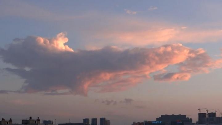 Над Уфой повисло облако в форме корабля из «Звёздных войн»