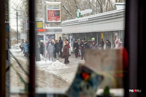 Общественный транспорт переживает в Ярославле не лучшие времена