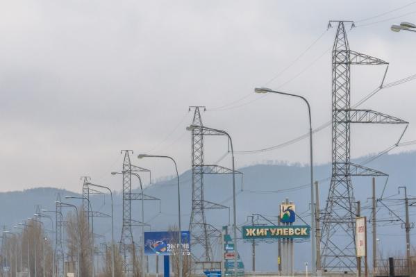 Жигулевск расположен по соседству с Тольятти и национальным заповедником