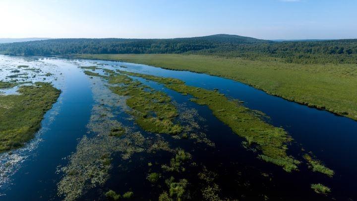 Вся Исеть от Палкино до Химмаша: летаем над главной водной артерией Екатеринбурга и вспоминаем лето