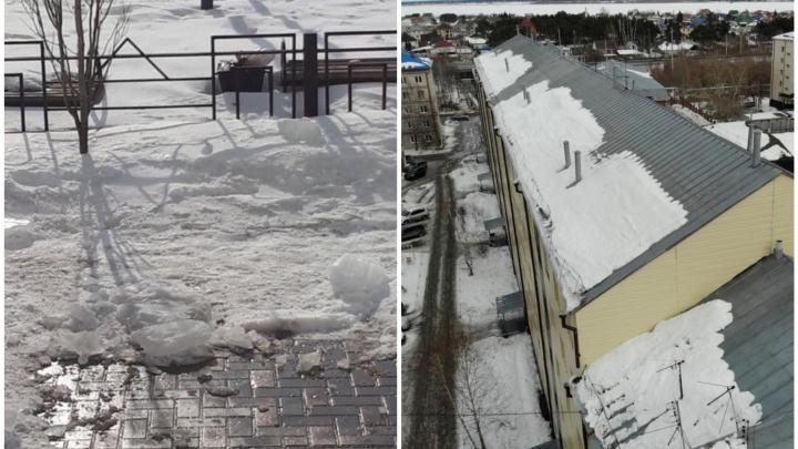 Гибель пенсионера от ледяной глыбы в Боровском обернулась для коммунальщиков штрафом в 50 тысяч
