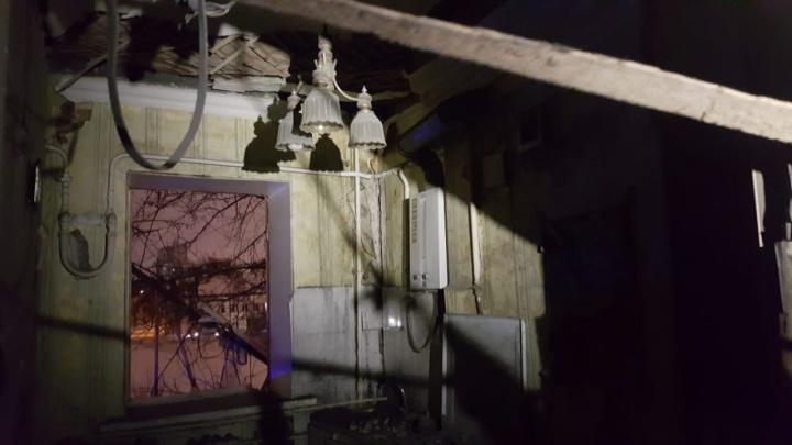 В жилом доме в Уфе из-за взрыва газа обрушился потолок