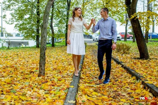 Вы успели пошуршать осенними листьями?