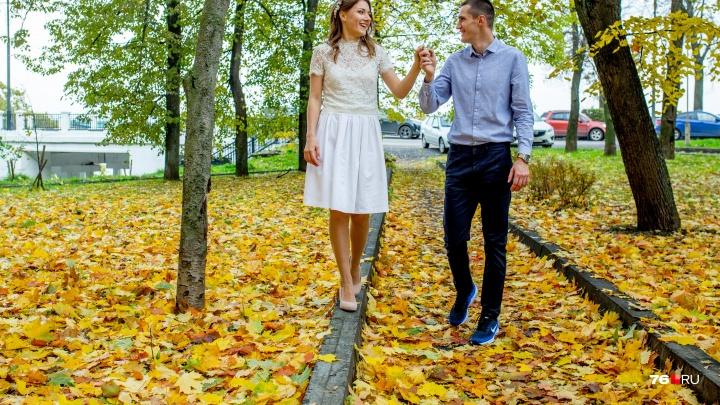 Золотая осень в Ярославле: 15 снимков, которые окутают вас нежностью (и лёгкой грустью)