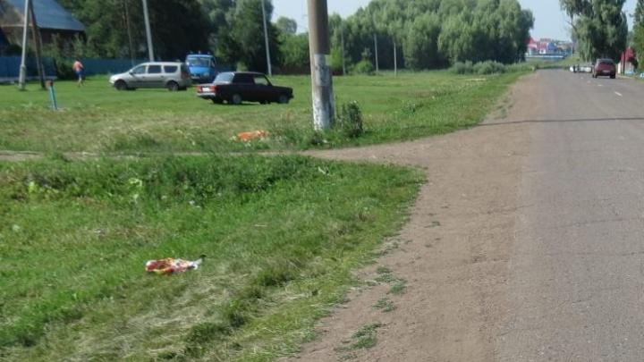 В башкирском селе «семёрка» насмерть сбила пешехода