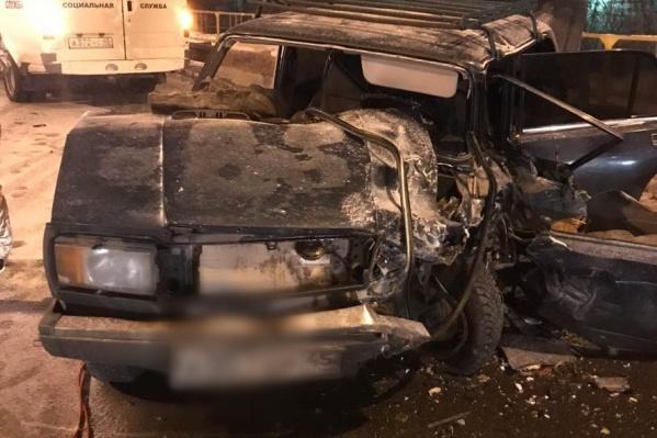 Авария произошла вечером 13 января