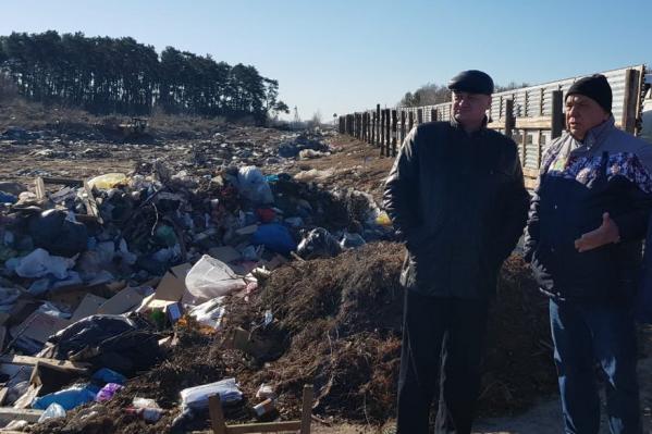 После общественного резонанса, который инициировали местные жители, весной 2019-го чиновники наконец заметили свалку в нацпарке