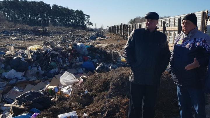 С ужасающей несанкционированной свалки в Рождествено вывезли 2000 тонн мусора
