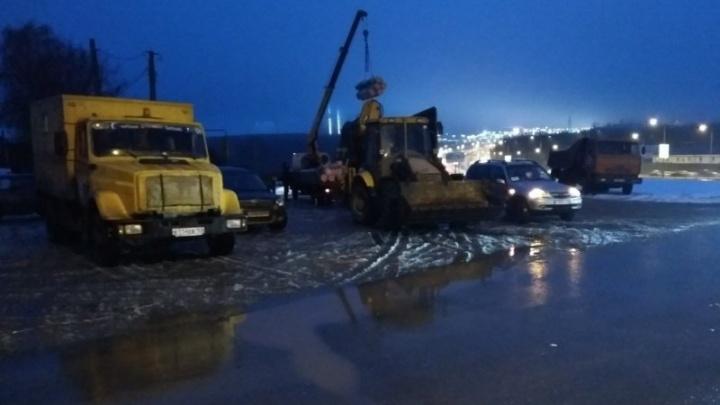 В Красноглинском районе Самары восстановили водоснабжение