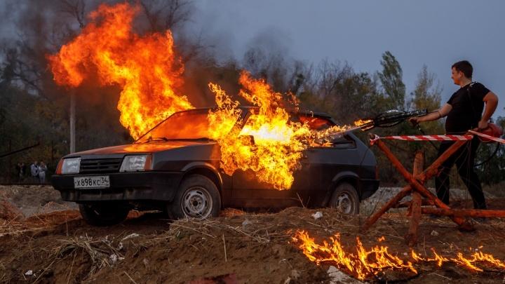 Огонь и сталь: волгоградские байкеры закрыли мотосезон-2019