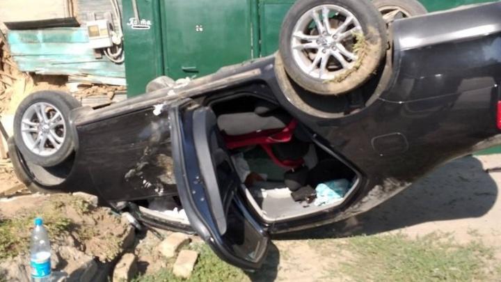 Чудом остались живы: пьяный водитель чуть не угробил своих детей в Волгограде