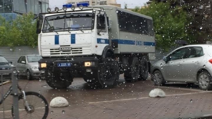 Областные власти запретили проводить во вторник пикет в сквере у Драмы