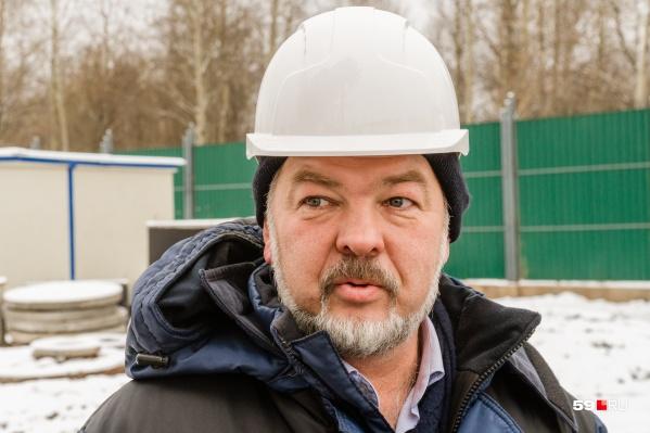 Андрей Колмогоров ранее работал в краевом УКСе