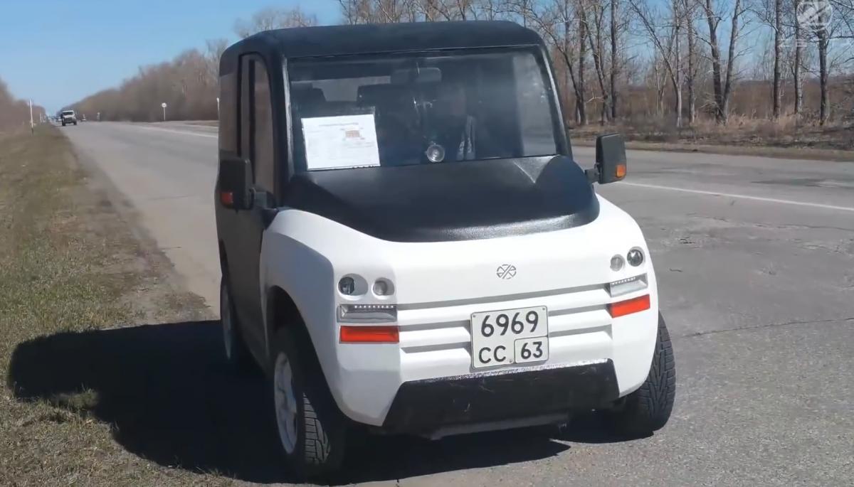 Концепт-кар электромобиля Zetta