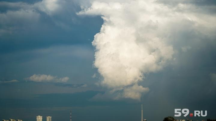 В Прикамье после дождей похолодает до +14 градусов