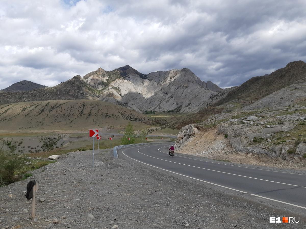 Горы действительно отличаются от тех, что в Чемальском районе