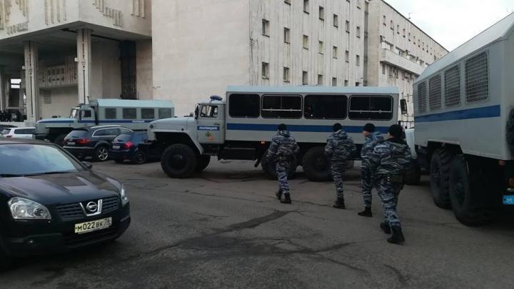 В Ярославле оппозиции сорвали шествие к годовщине революции