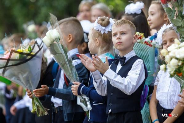 Ежегодно количество первоклассников в Волгограде увеличивается примерно на 100 человек