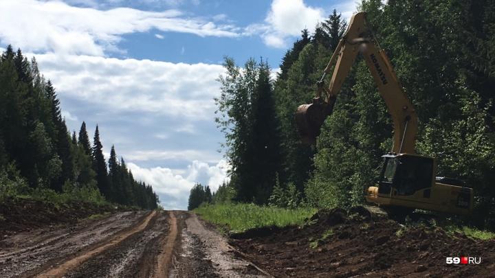 В Прикамье дожди размыли дороги к шести деревням