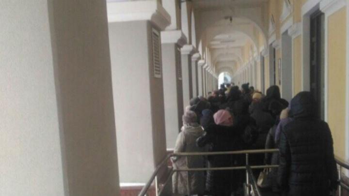 В Уфе экстренно эвакуировали посетителей Гостиного двора