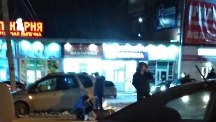 В Октябрьском районе автомобиль сбил мужчину на пешеходном переходе