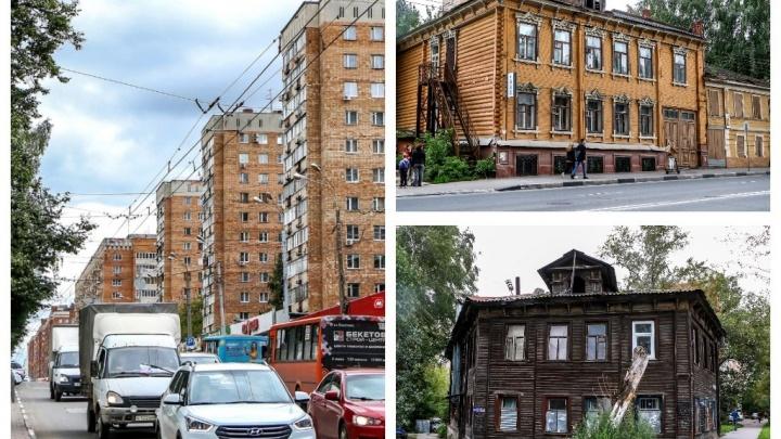 История одной улицы: гуляем по длинной-длинной улице Горького