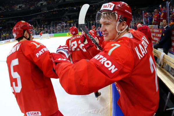 Хоккеисты российской сборной повторили счет матча с французами