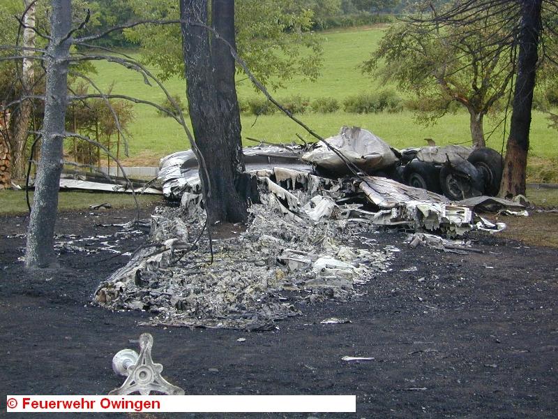 Boeing разрубил килем Ту-154 почти ровно пополам