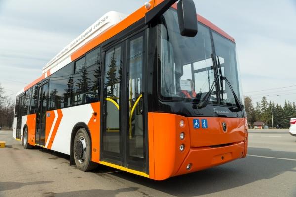 Вот так выглядит электробус «Горожанин»