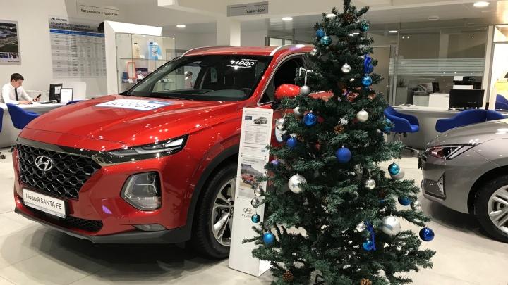 Праздничная автоёлка в «Регинас»: 14 декабря сеть автосалонов назначит минимальные цены в этом году