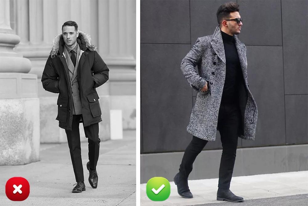 Еще одной довольно частой ошибкой является ношение спортивных курток каждый день